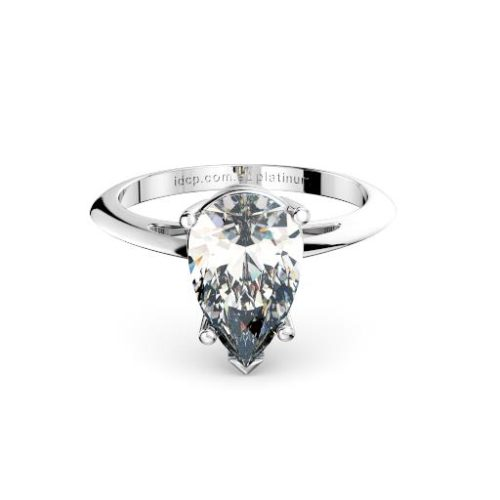 Classic Pear Solitaire Band Melbourne Diamond Company