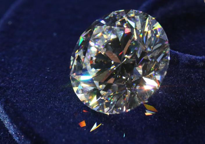 51 Carat Russian Flawless Diamond Top View